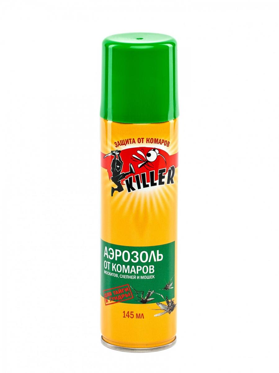 Киллер АЭРОЗОЛЬ от летающих насекомых (для тайги и тундры)