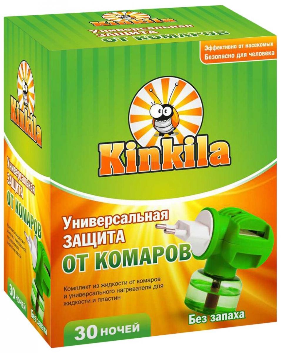 Жидкостный комплект от комаров на 30 ночей KINKILA